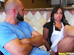 Pepperoni pussy with Gabbi Vega and Jmac.